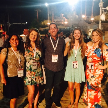 Ladies night with the EW team at SPI 2018