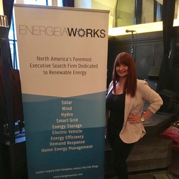 Victoria flagging the flag for EnergeiaWorks