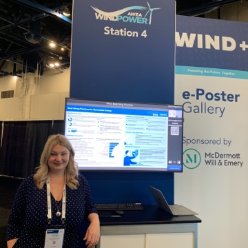 Victoria presents Best Hiring Practices at WindPower